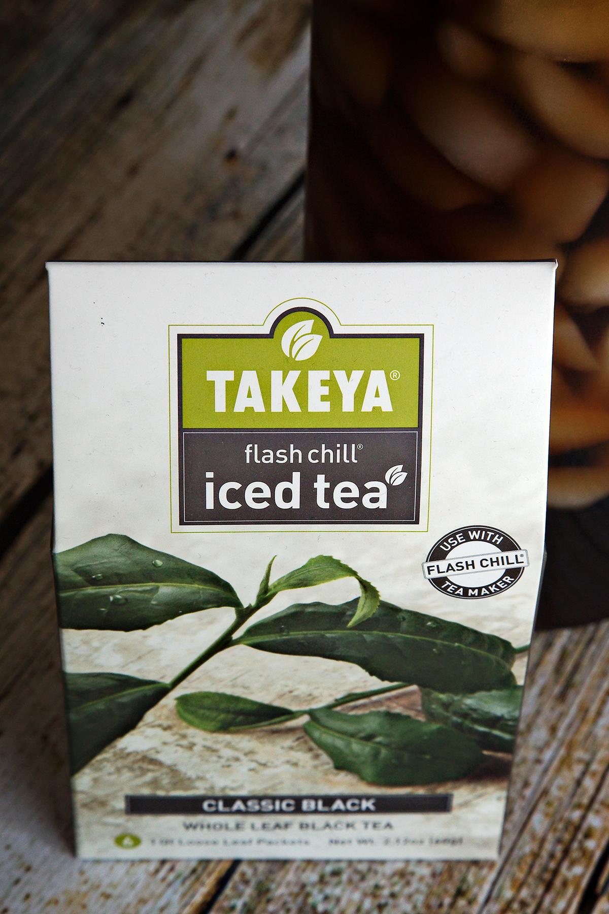 Flash Chill Classic Black Whole Leaf Iced Tea