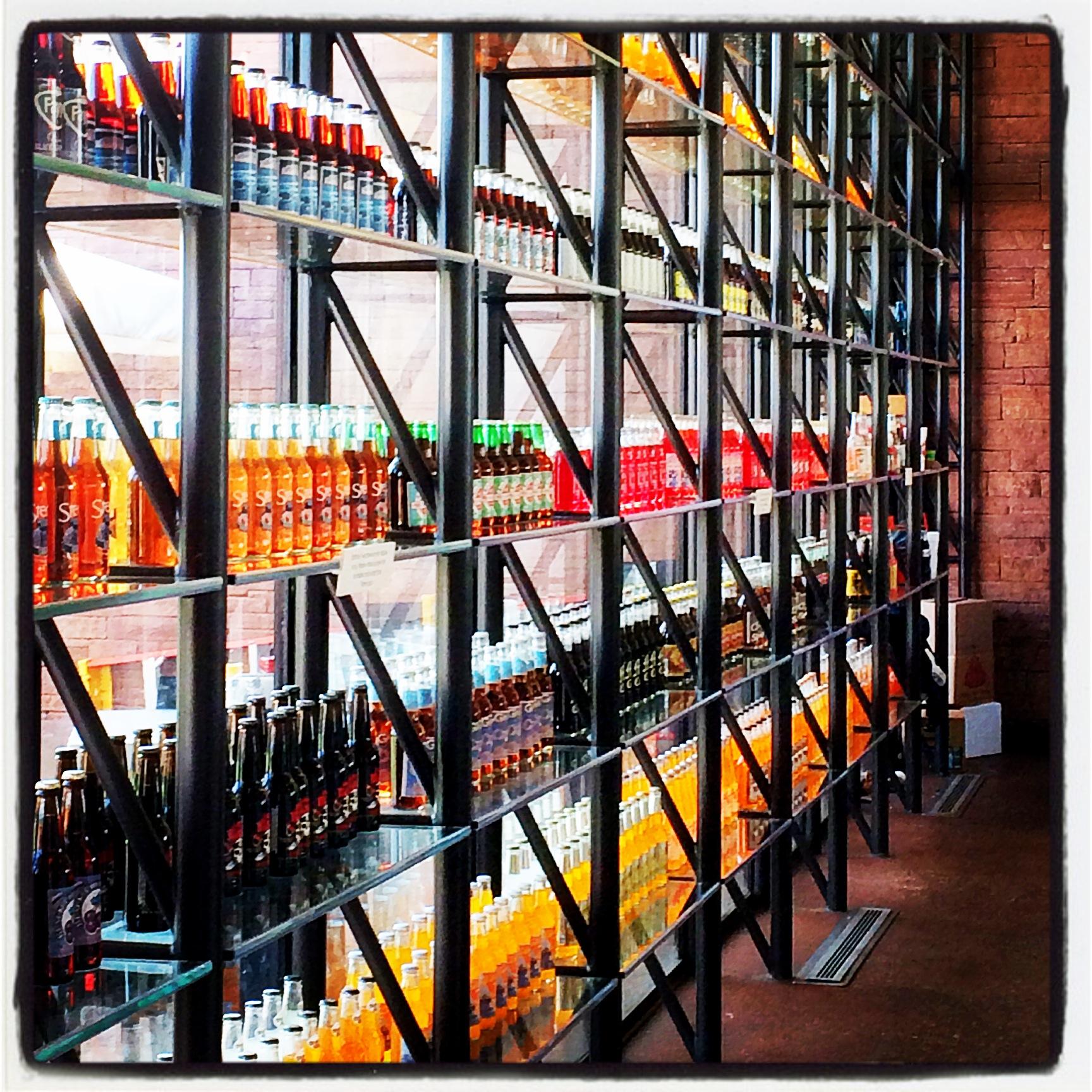Wall of Soda - POPS - Arcadia, OK