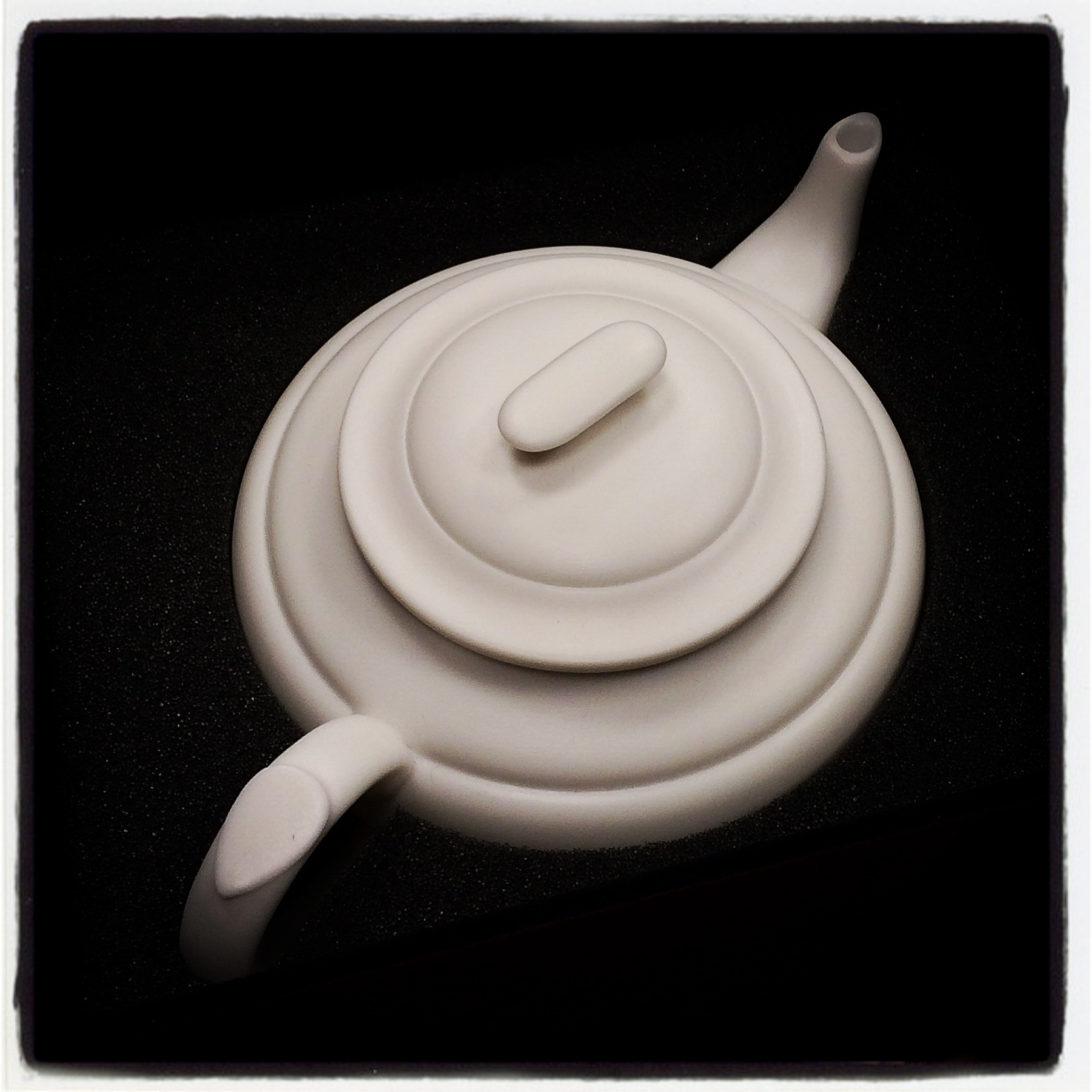 Unglazed Porcelain Teapot - Shang Tea