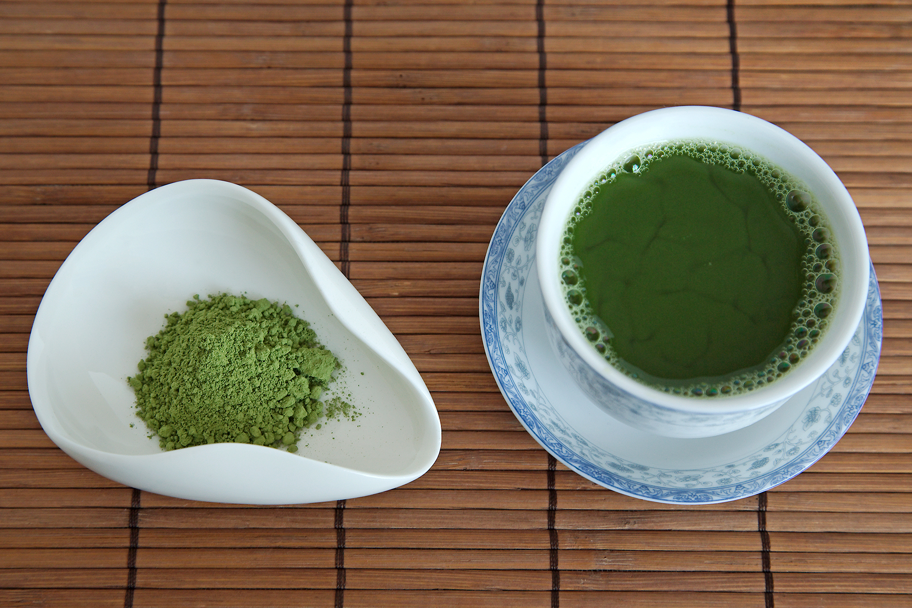 Tea Review: Manju Matcha - Red Leaf Tea