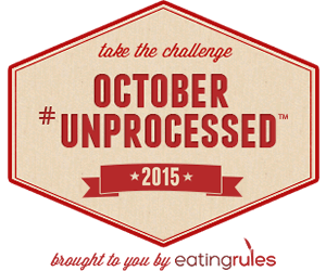 October #Unprocessed - Week 2 Update