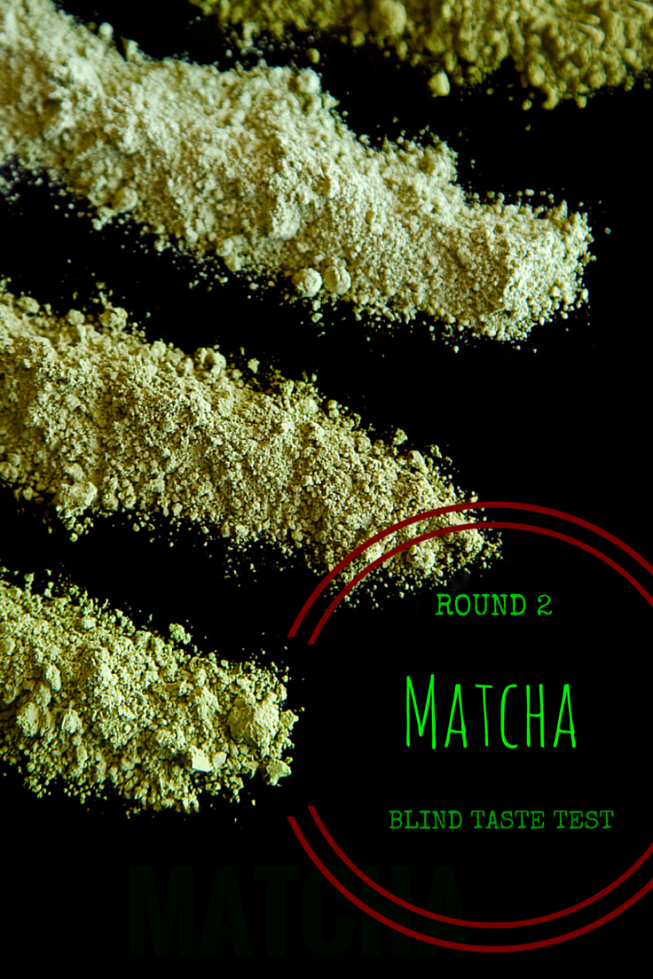 Matcha Blind Taste Test - Ceremonial Grade Part 2
