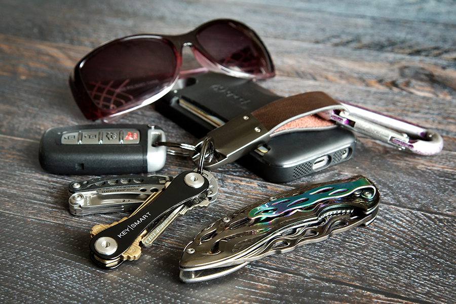 Today's post was sponsored by KeySmart who has provided me with one of their nifty key organizers for review purposes.