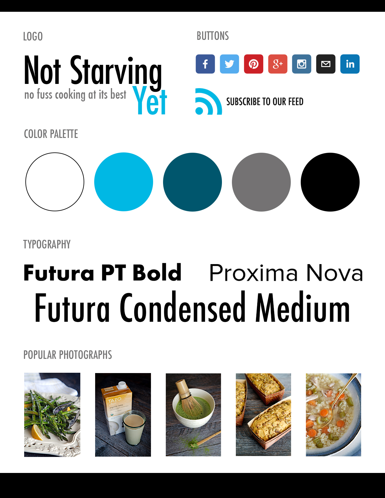 Style Sheet | Not Starving Yet