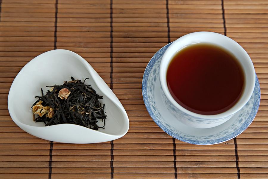 Tea Review: Amba Tea Flower Tea - Single Origin Teas