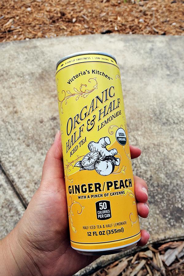 Tea Review: Ginger/Peach Iced Tea & Lemonade - Victoria's Kitchen