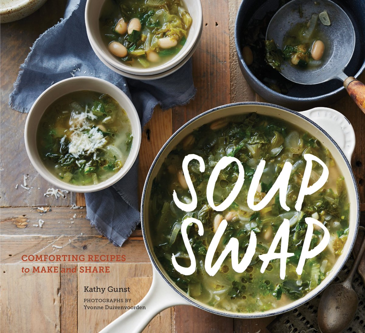 Recipe excerpted from SOUP SWAP, © 2016 by Kathy Gunst. Reproduced by permission of Chronicle Books. All rights reserved.  DISCLOSURE: A review copy of this book was provided by the publisher, as always all opinions are my own.