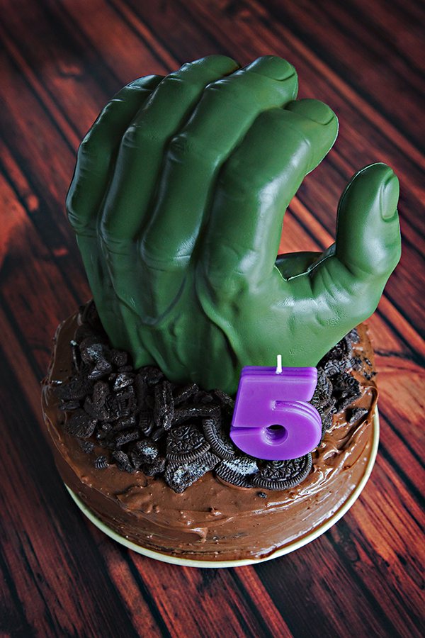 Hulk Smash Cake | Not Starving Yet