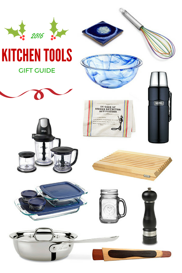 2016 Kitchen Tools Gift Guide | Not Starving Yet