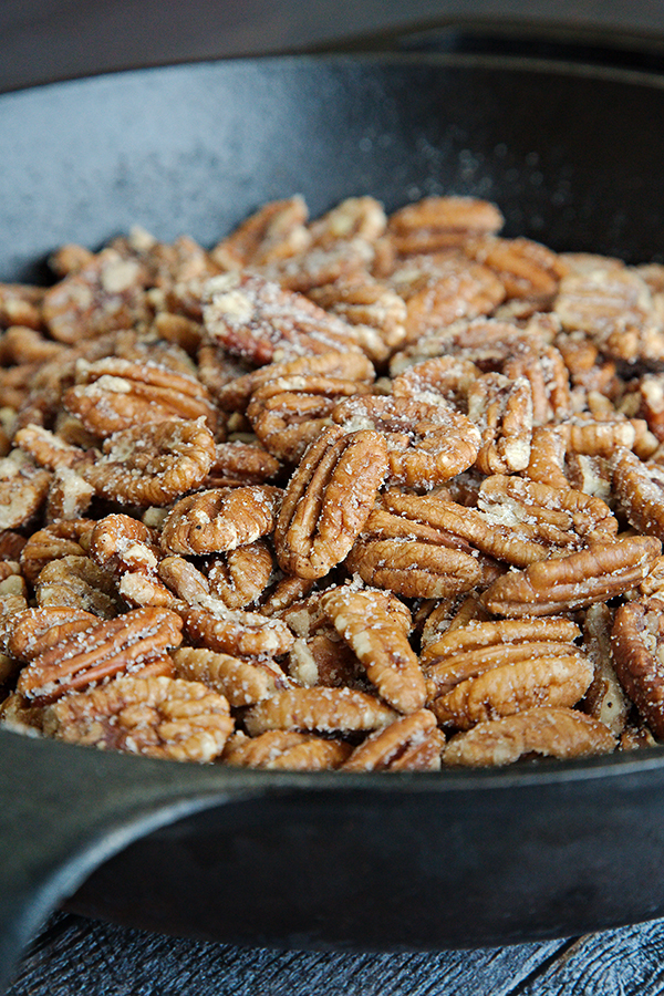 Quick & Easy Sugar Coated Pecans | Not Starving Yet