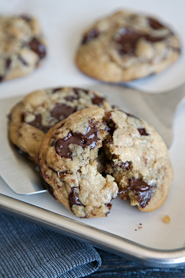 Chocolate Chunk Cookies   Not Starving Yet