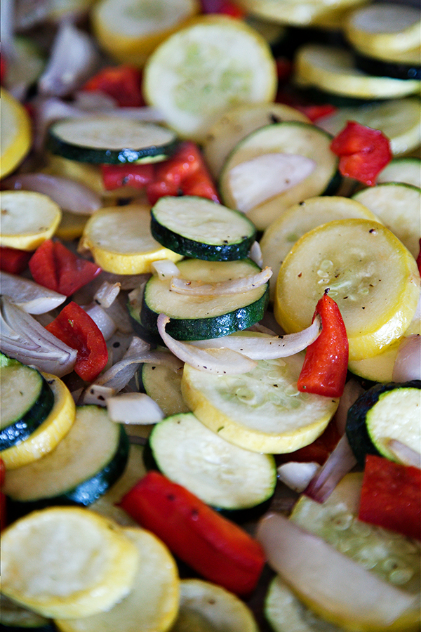 Quick and Easy Oven Roasted Vegetables | Not Starving Yet