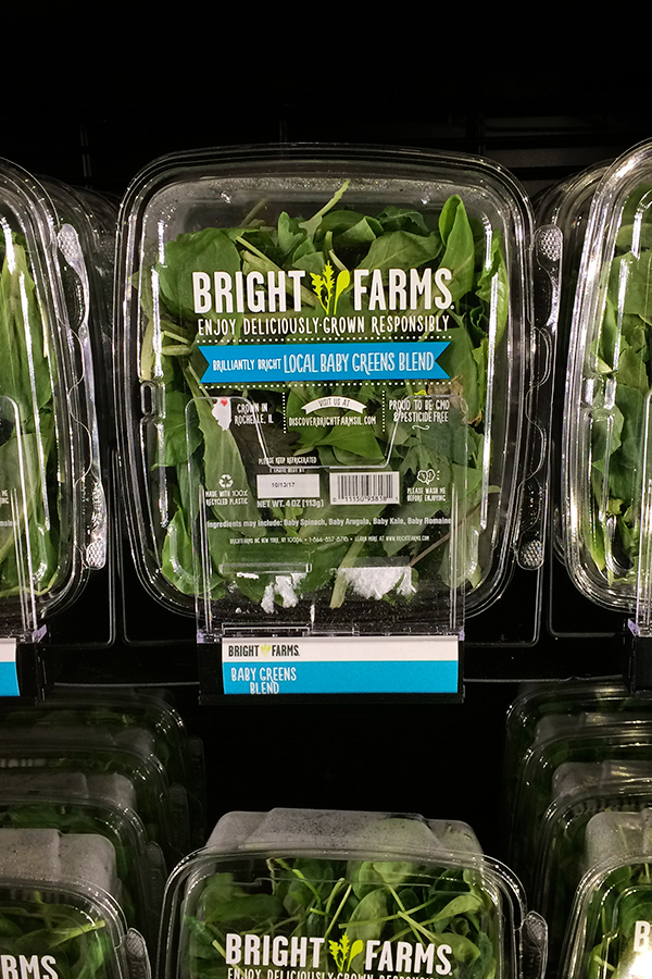 DISCLOSURE: Today we're excited to be partnering with BrightFarms as part of their #ChooseLocal campaign. I have been compensated for this post, but as always, all opinions are my own.