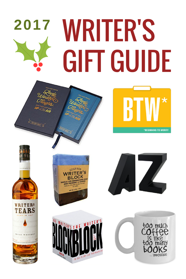 2017 Writers Gift Guide | Not Starving Yet