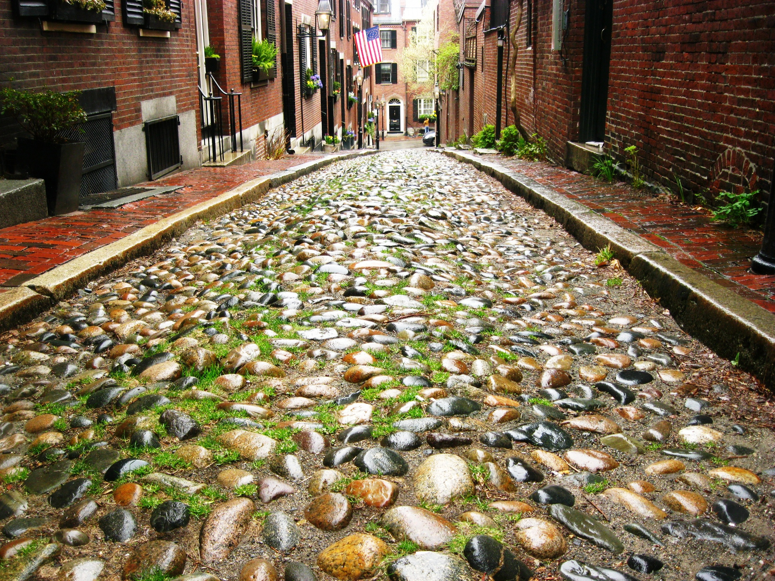 Beacon Hill in Historic Boston, MA