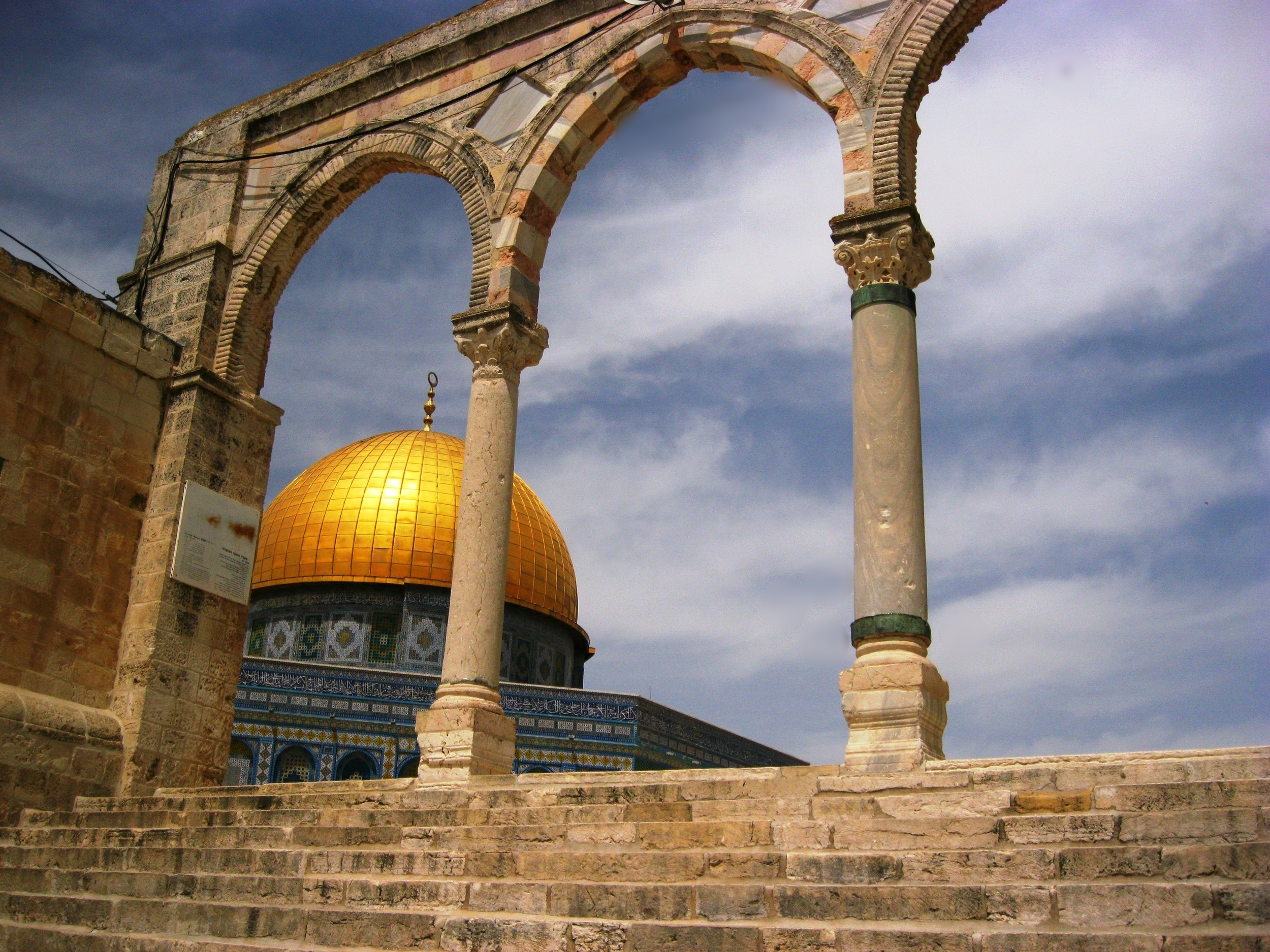 Approaching the al-Aqsa Mosque