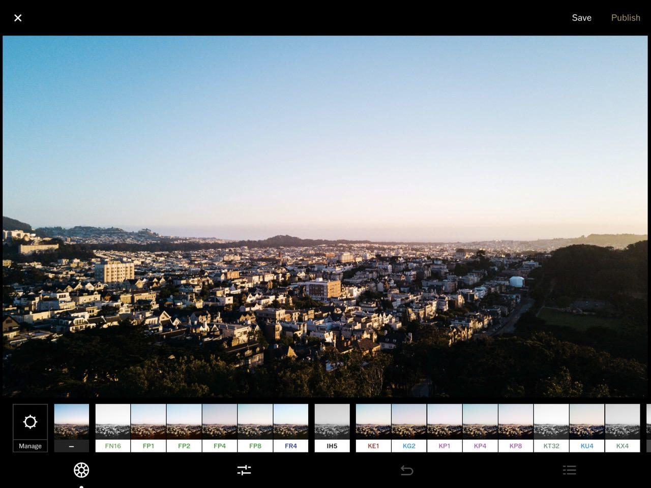 2017 iPad Pro 10.5 – VSCO