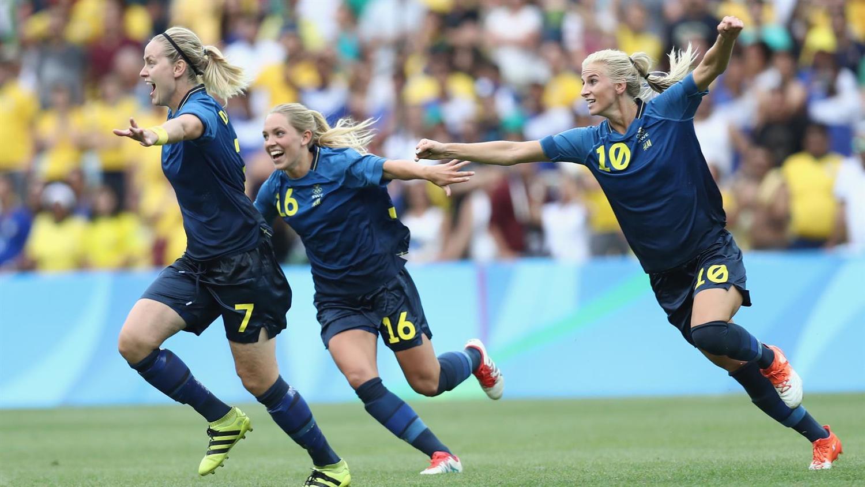 Lisa Dahlkvist of Sweden - Semi Finals Victory vs Brazil [Source: Buda Mendes/Getty Images]