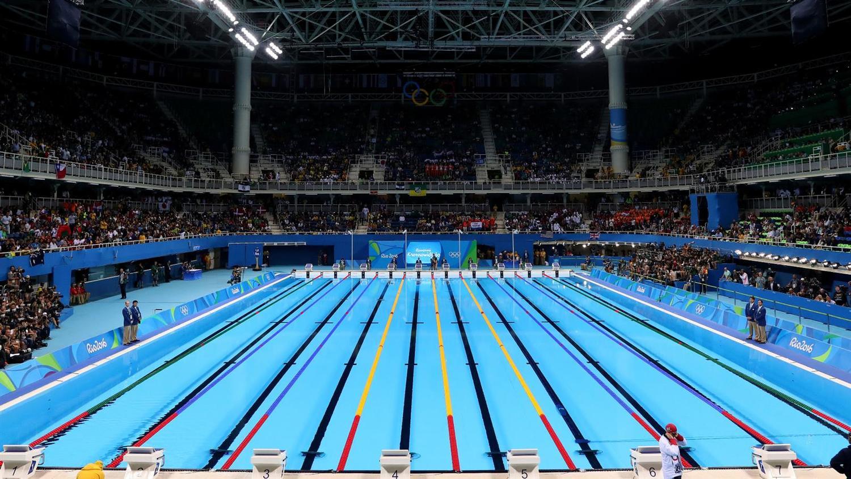 Olympic Aquatics Centre Rio 2016 - Final Night [Source: Tom Pettington/Getty Images]