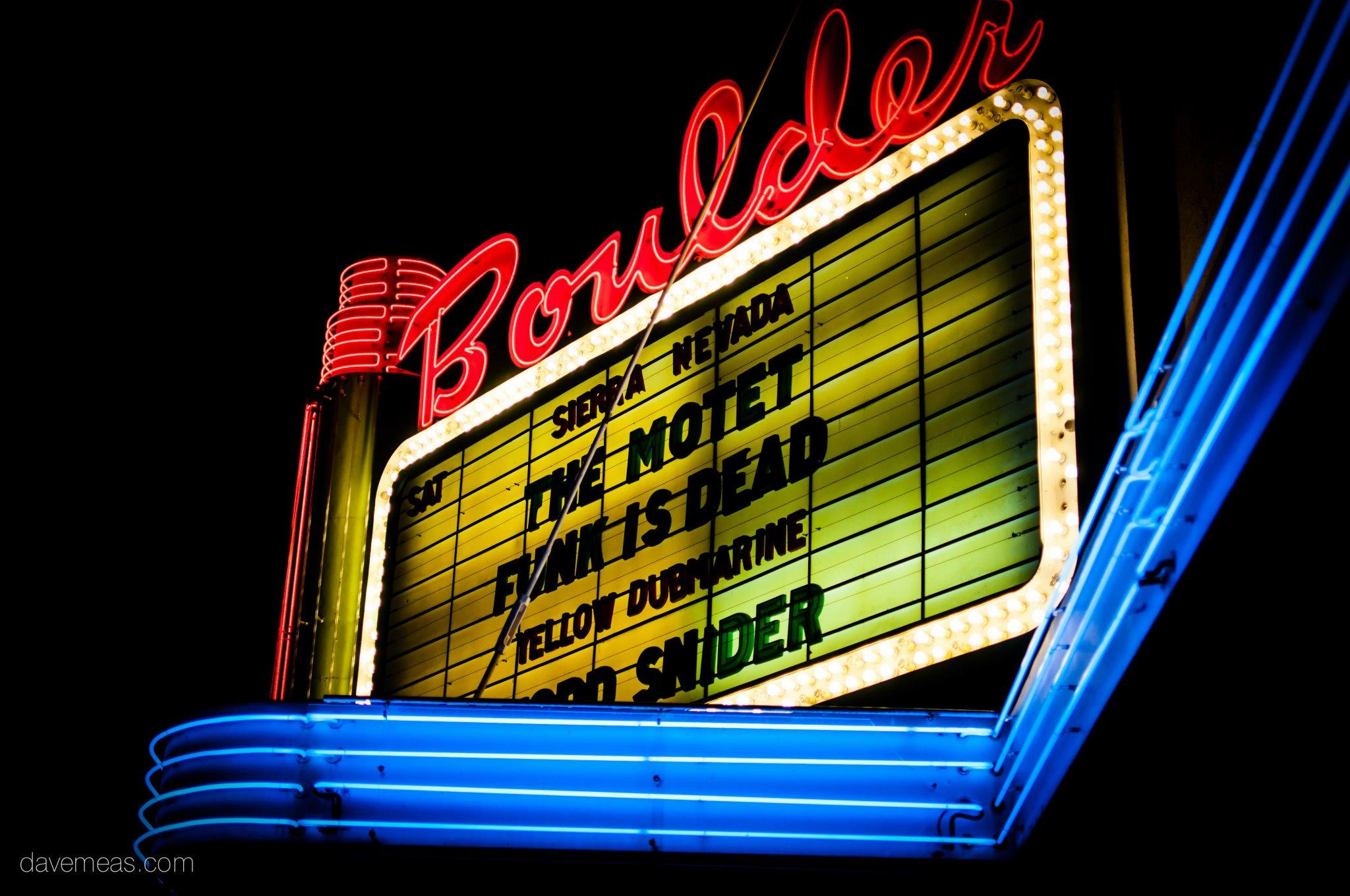Motet at The Boulder Theatre