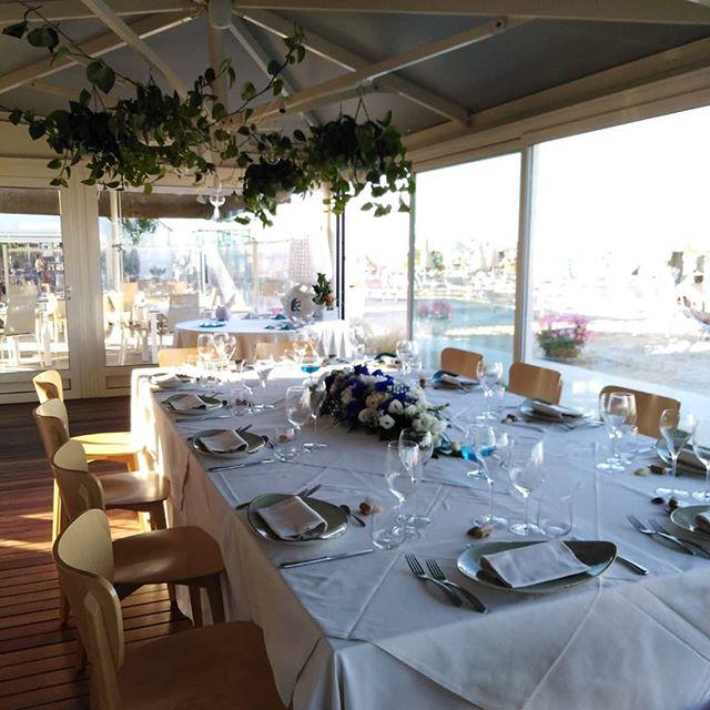 🌹🥂Primo matrimonio della stagione🥂🌹🤵👰 #food #wedding #beach #cervia #seafood #seaside #season