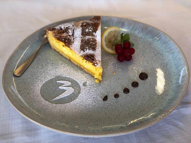 Crostata alla ricotta del Cuma'🥧 #cervia #balmor #Cuma' #romagna #rivieraromagnola #ristorantecervia #ristorantesulmare
