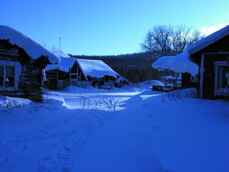 Koli: Workshop and studio in winter