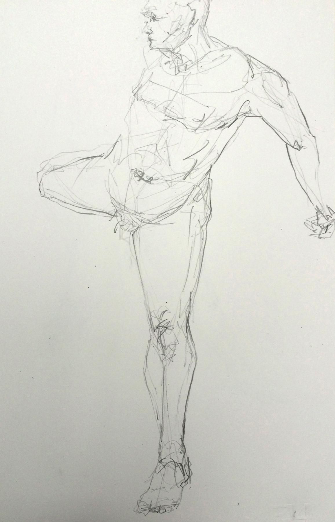 Life Drawing VIII