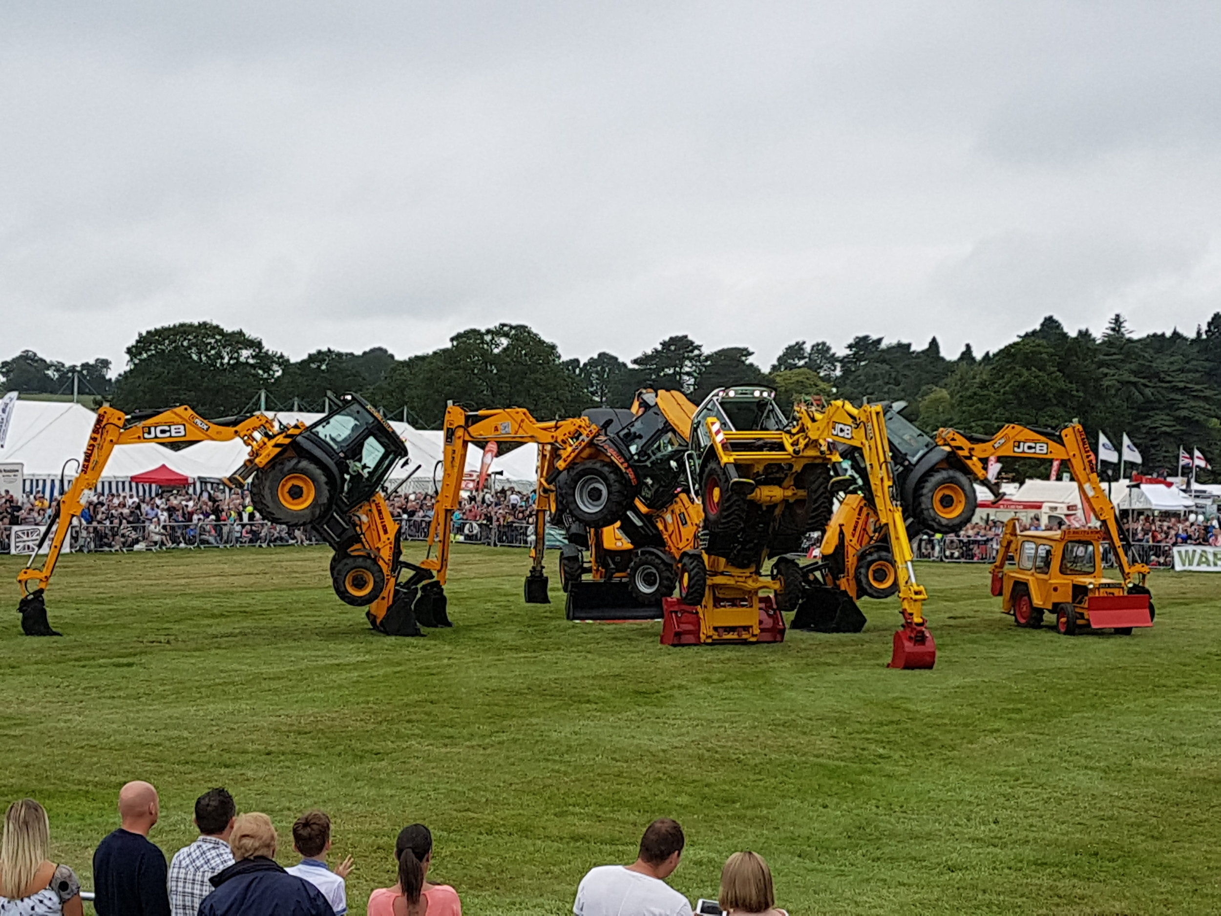 The JC Balls Dancing Diggers will return to the Derbyshire County Show for 2018: Penguin PR - public relations, media and communications
