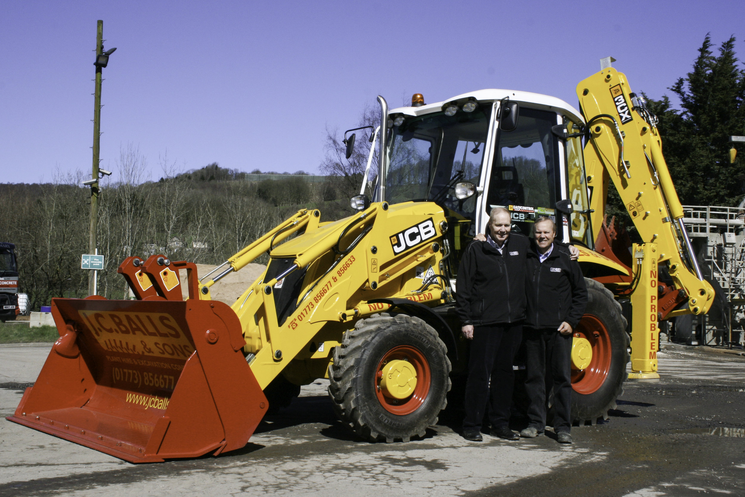 Chris and Kevin Balls are the brains behind the JC Balls Dancing Diggers, who will return to the Derbyshire County Show for 2018: Penguin PR - public relations, media and communications