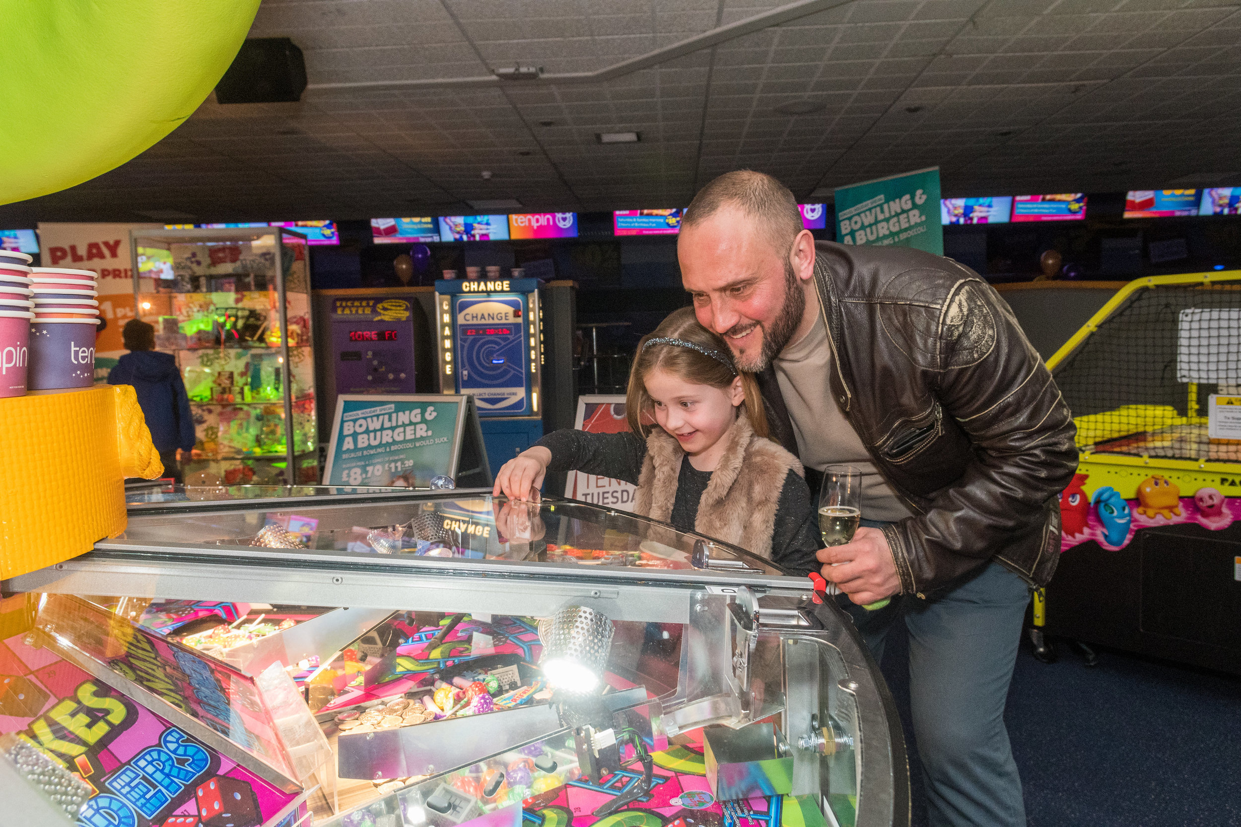 Former Derby County player - and BBC Radio Derby commentator - Craig Ramage was one of the special guests as Tenpin Derby held a special relaunch event following their £270,000 refurbishment in March. Penguin PR: public relations, media and communications