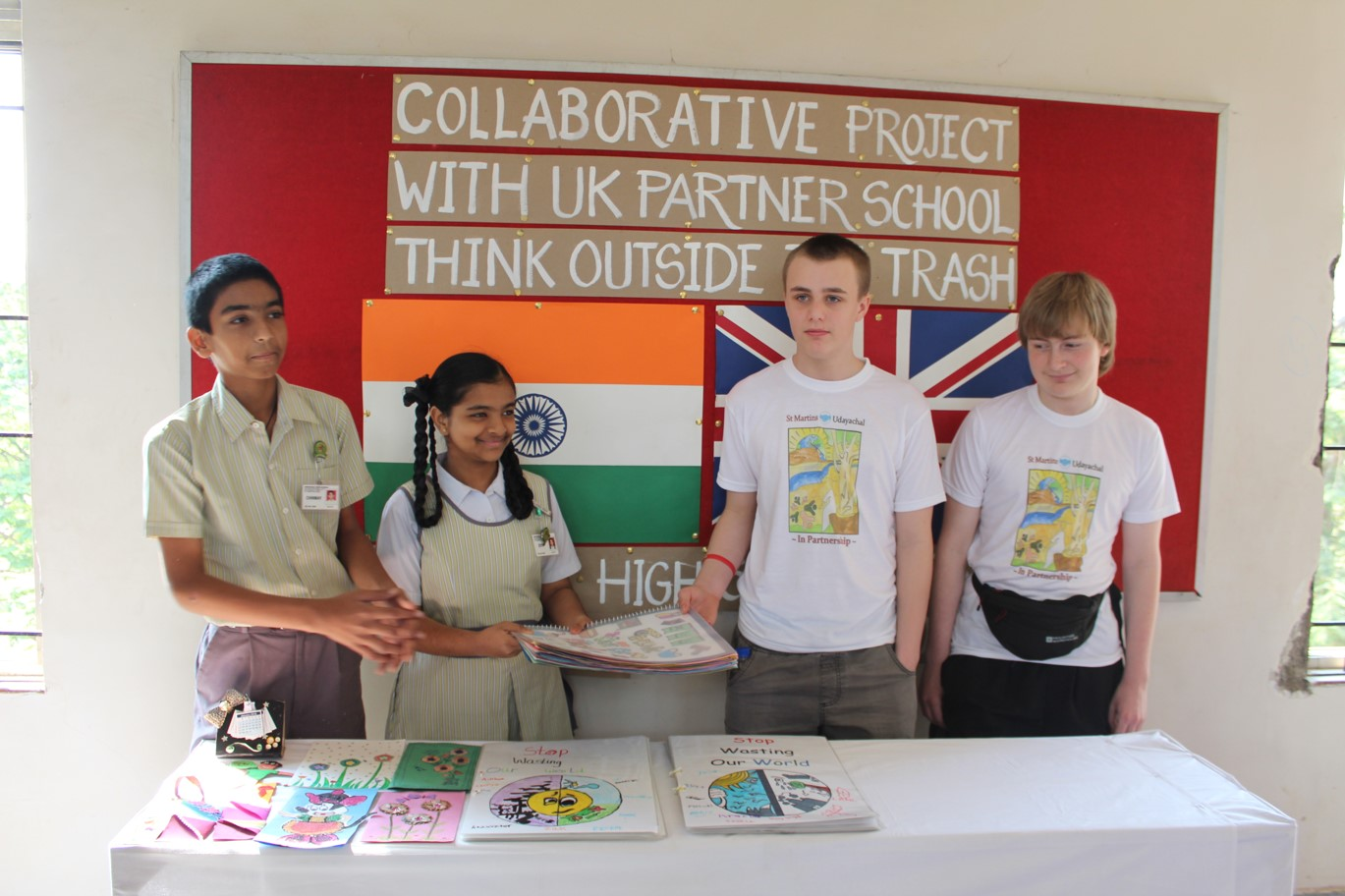 Pupils from St Martins' School in Alvaston, Derby visited India as part of an inspirational trip: Penguin PR - public relations, media and communications