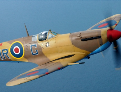 An RAF Spitfire will fly over the 138th Derbyshire County Show. Penguin PR - public relations, press and media.