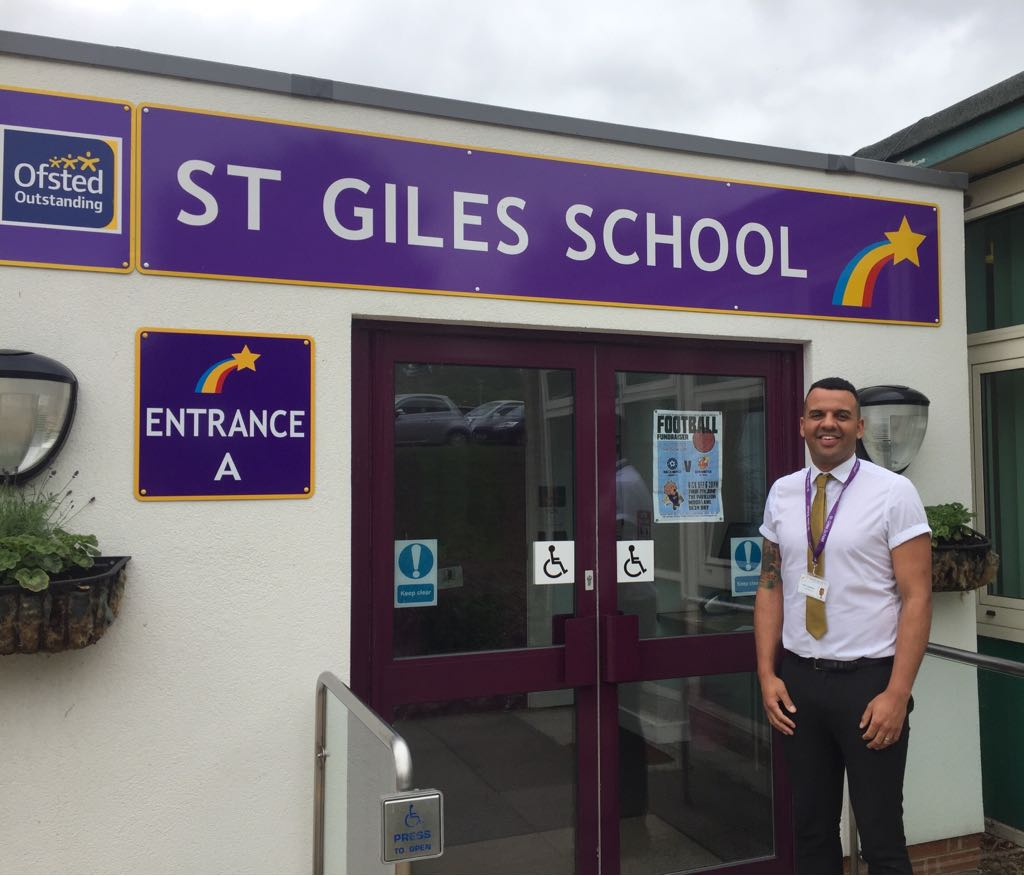Clive Lawrence is the head teacher at St Giles School - Derby's only special school. Penguin PR; public relations, media and communications