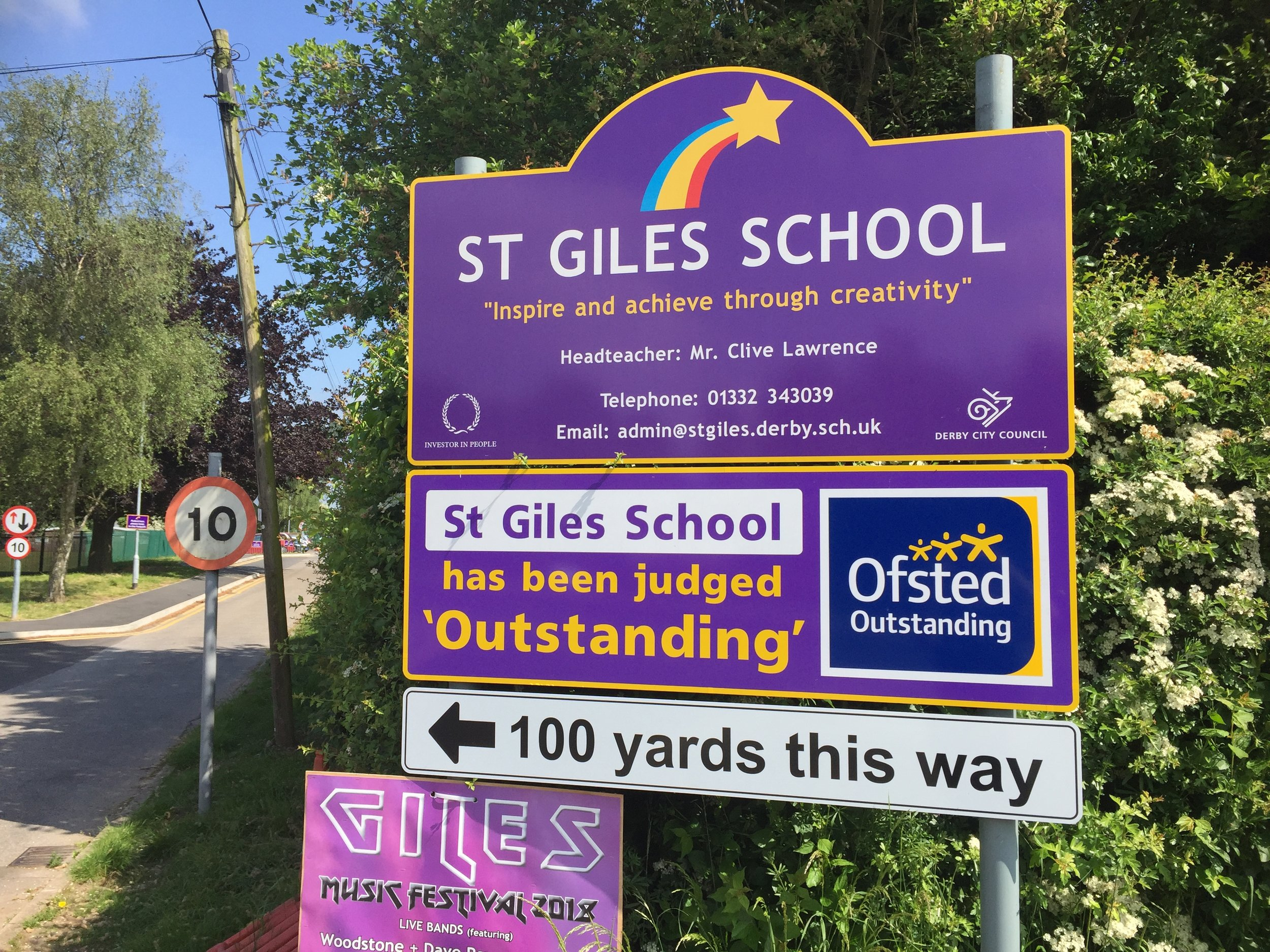 St Giles School in Derby. Penguin PR: public relations, media and communications in the East Midlands