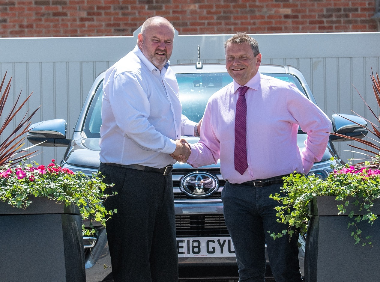 Tim Troman has joined Derbyshire-based Securiscape. He is pictured here with Mark Stone, managing director of Securiscape (left). Penguin PR: publiuc relations, media and communications
