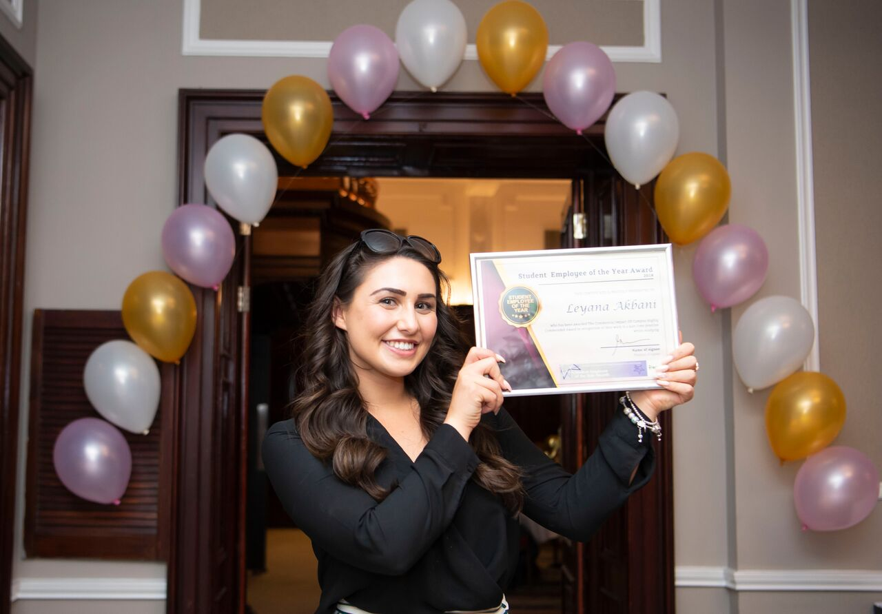 Huge congratulations to Leyana after winning her national award. Penguin PR: public relations, communications and media