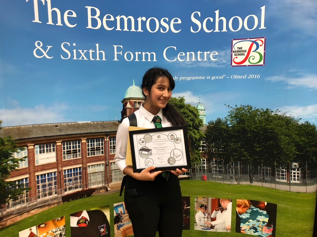 Pupils from The Bemrose School were rewarded for their hard work at an end-of-year ceremony. Penguin PR: public relations, media and communications
