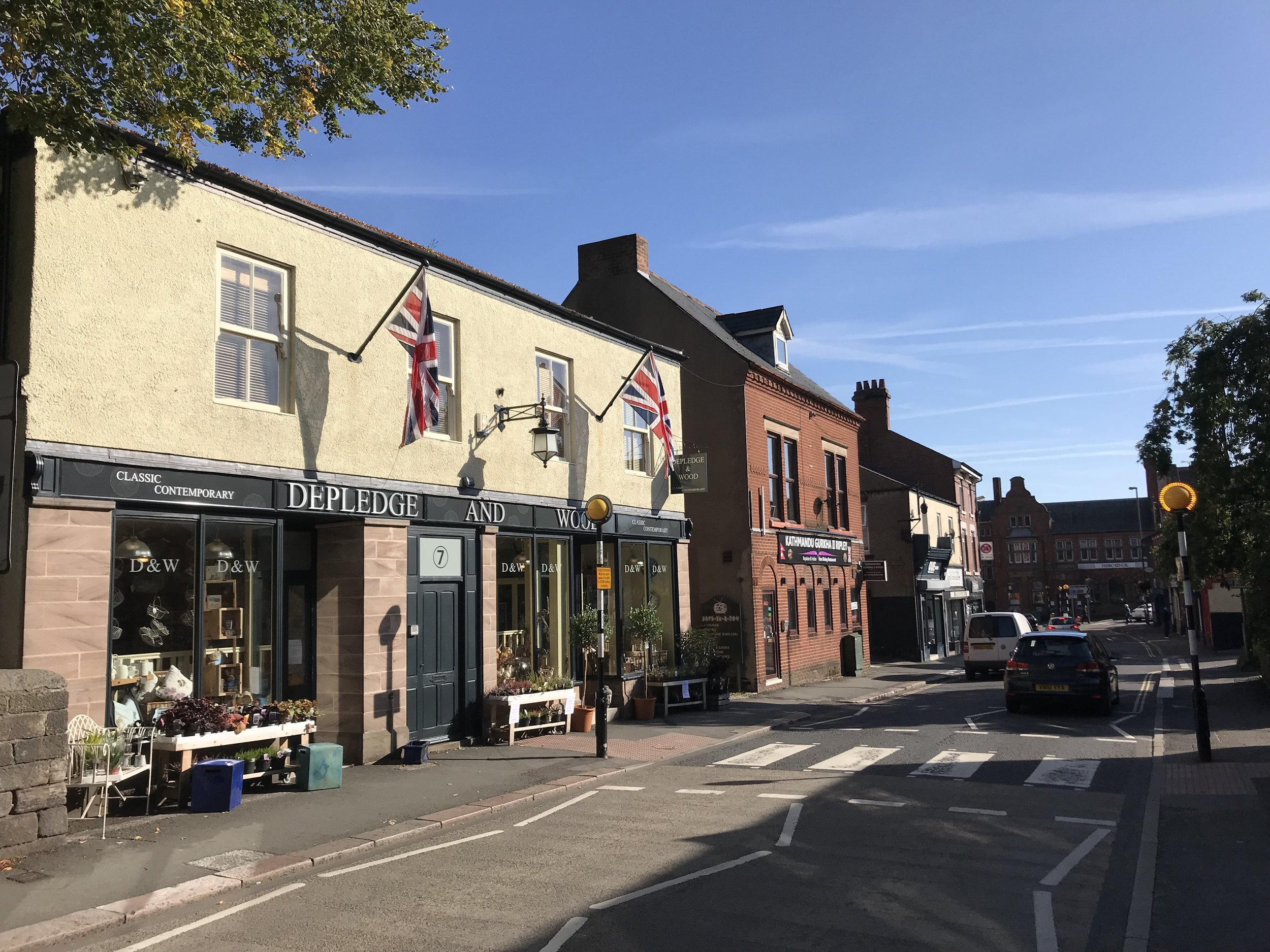 The market town of Ripley is a short walk from the Deer Park development. Penguin PR: public relations, media and communications