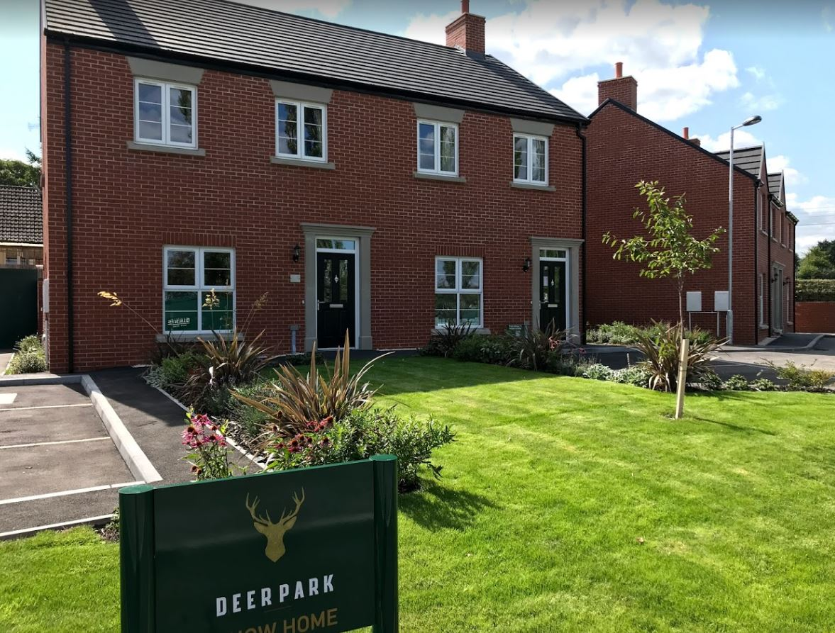 The show home, which is open every Saturday from 11am, at Deer Park in Ripley. Penguin PR: public relations, media and communications