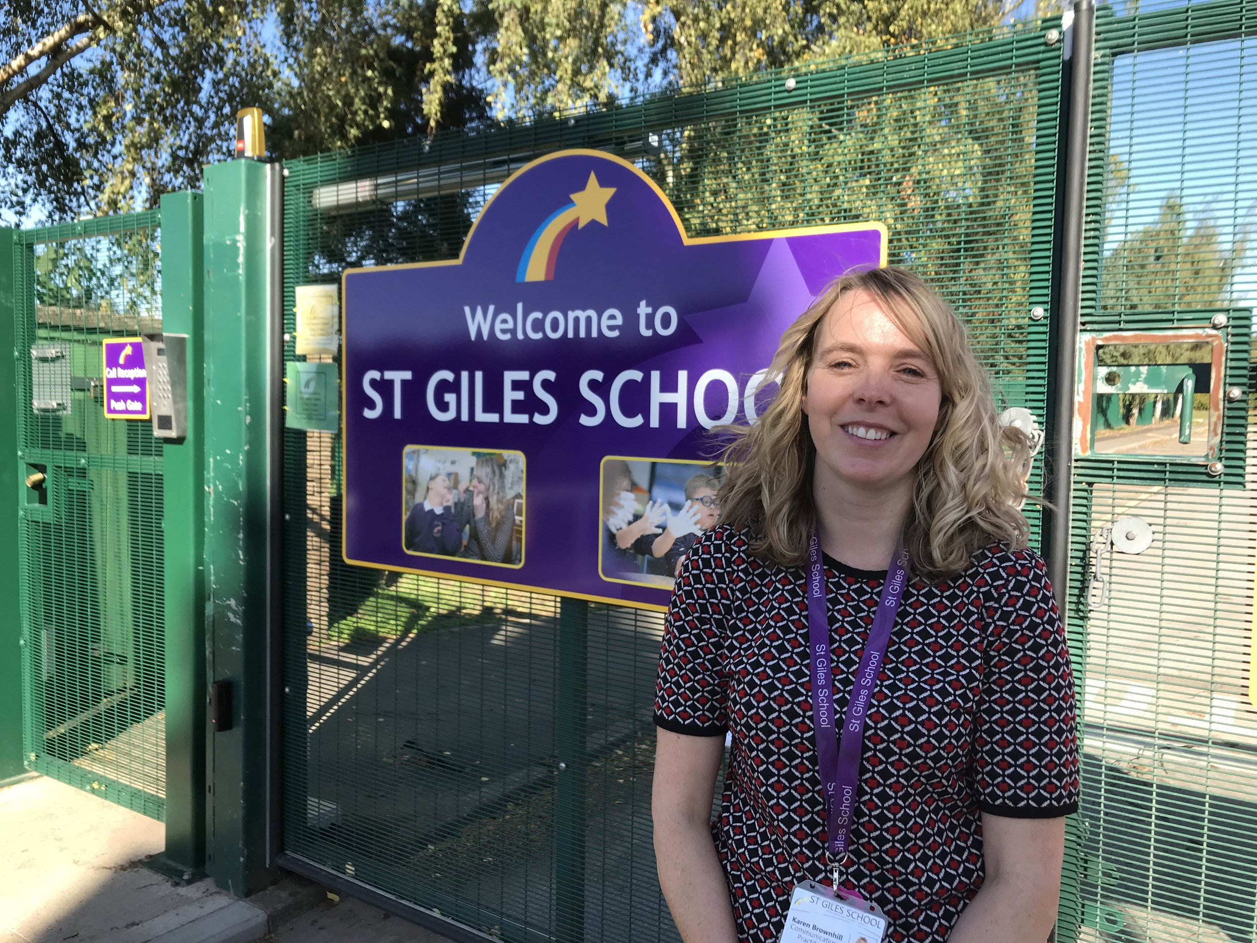Karen Brownhill, communications practitioner at St Giles School in Derby. Penguin PR: public relations, media and communications