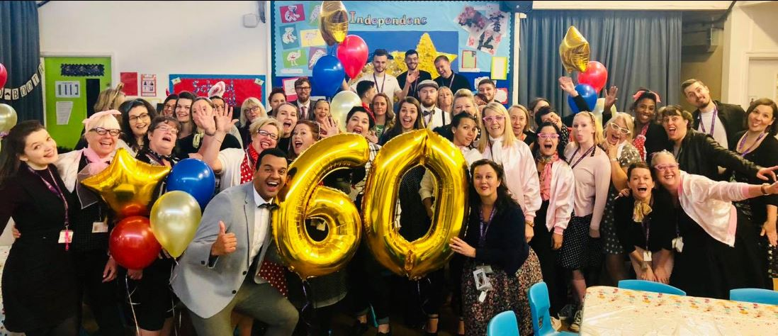 St Giles School celebrated their 60th birthday with a 1950s-themed tea party. Penguin PR: public relations, communications and media.