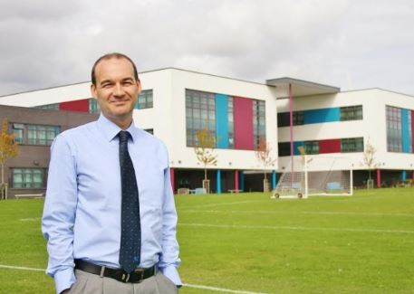 Shirebrook Academy head Mark Cottingham. Penguin PR: public realtions, media and communications