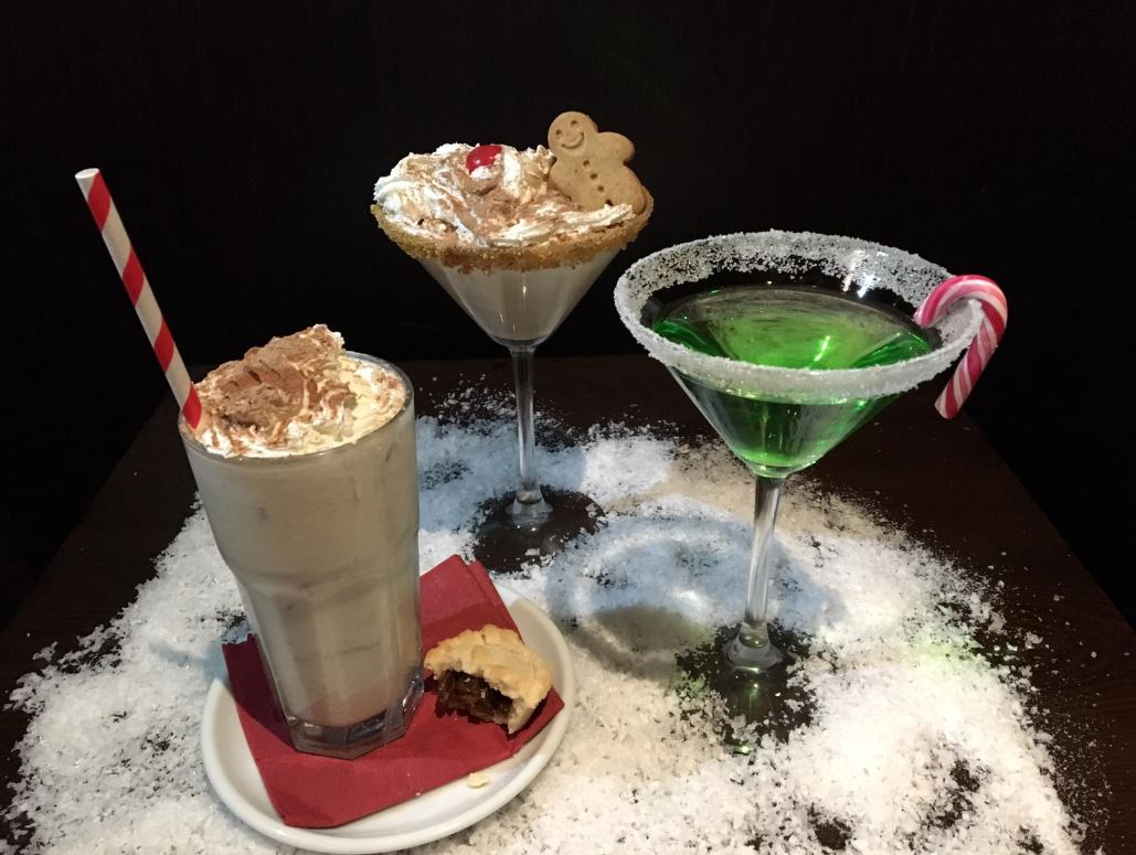 COSMO Derby have launched a range of Christmas cocktails for the festive season - and a FREE grotto for yuong diners. Penguin PR: public relations, media and communications