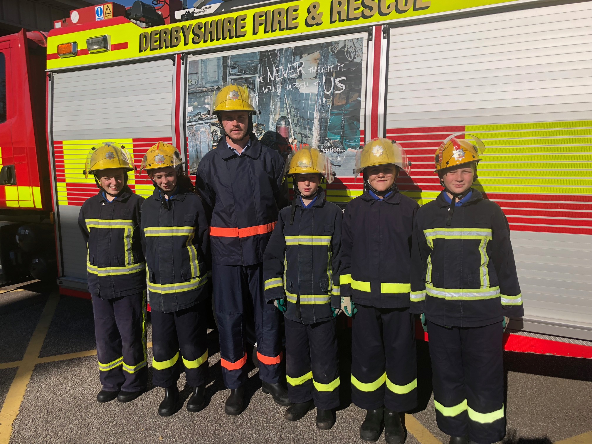 Pupils from The Bemrose School have completed a YES! course at Kingsway Station in Derby, thanks to Derbyshire Fire and Rescue. Penguin PR: public relations, media and communications