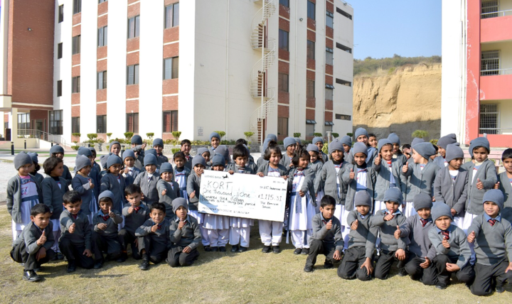 Orphans in Kashmir have received a donation from The Bemrose School in Derby. Penguin PR: public relations, media and communications