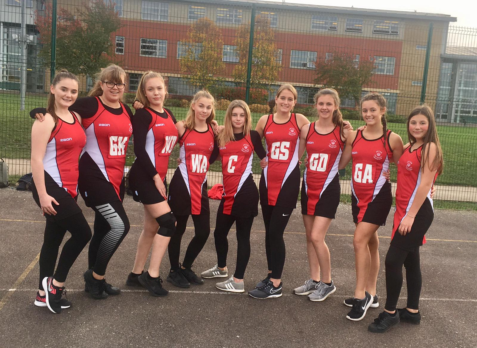 Aston Academy's Year 10 netball team will take part in the Rotherham Finals. Penguin PR: public relations, media and communications
