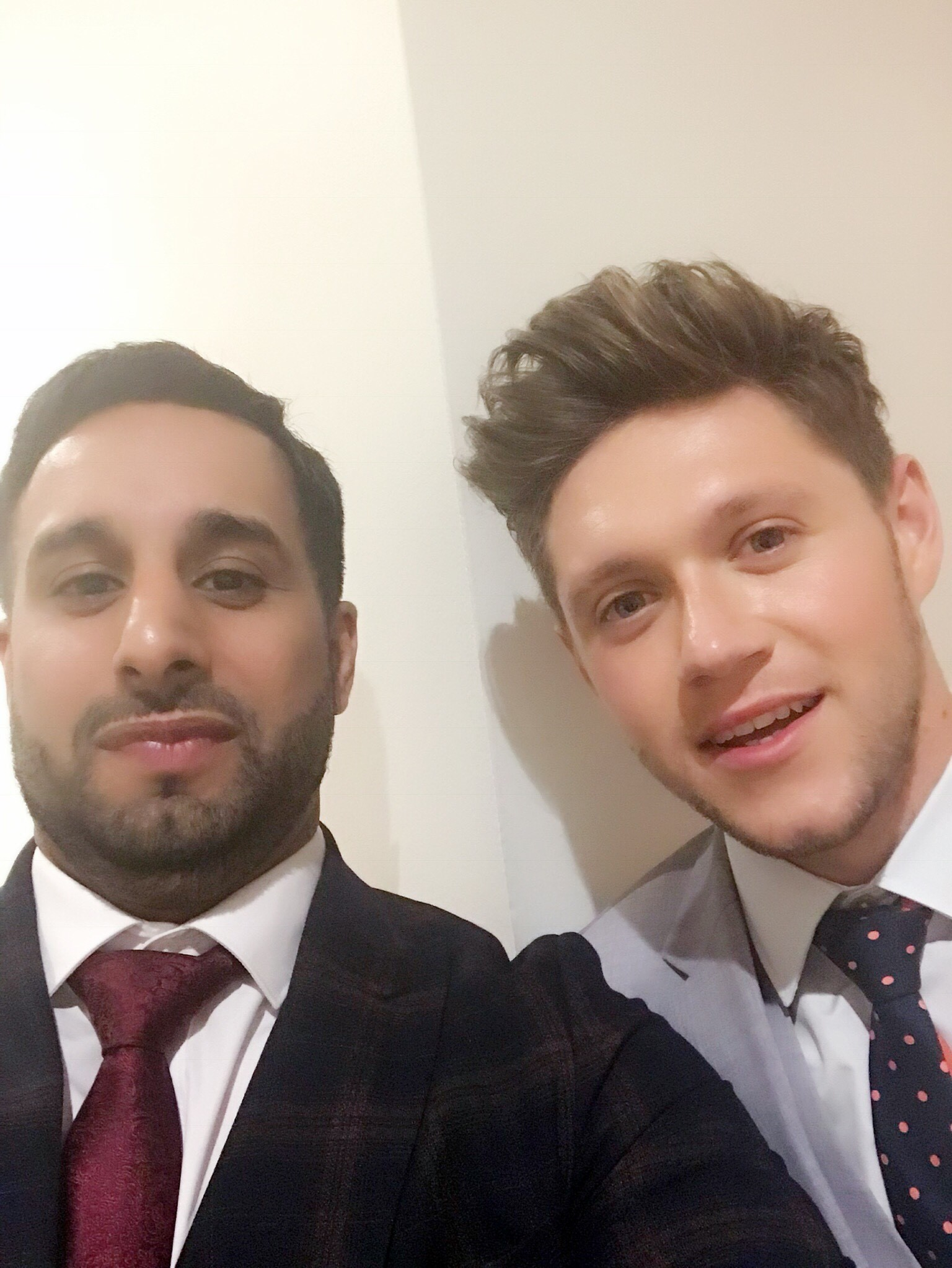Jay Dhillon is pictured with One Direction singer Niall Horan at a charity event. Penguin PR: public relations, media and communications