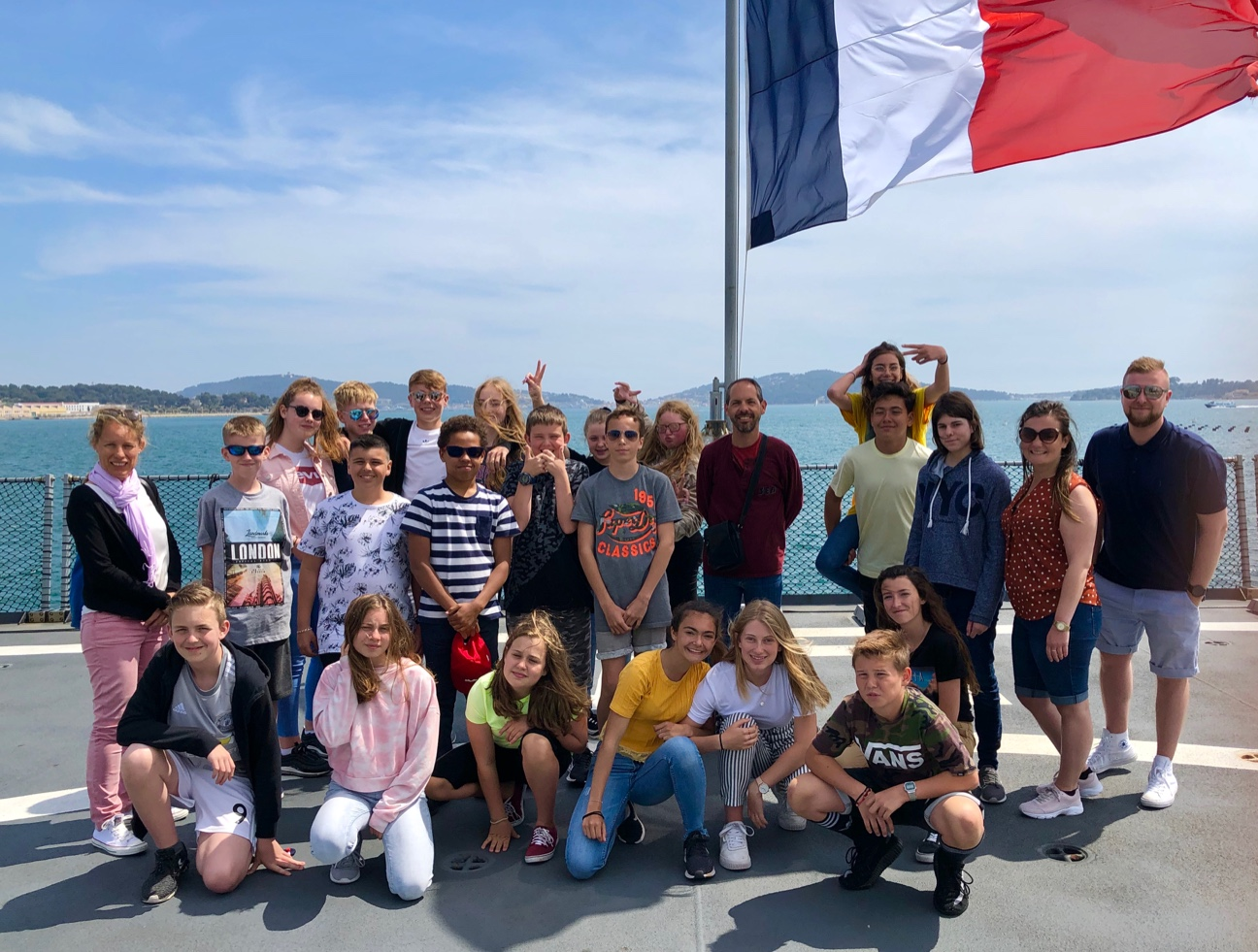 Shirebrook Academy students spent a week living with families in Toulon, in the South of France as part of a foreign exchange visit. Penguin PR: public relations, ,media and communications