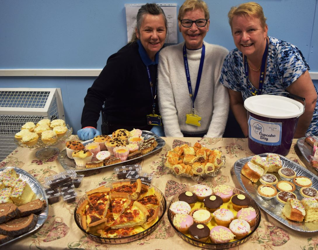 The Swinton Academy Hygiene Team have been fundraising with a bake sale. Penguin PR: public relations, media and communications.